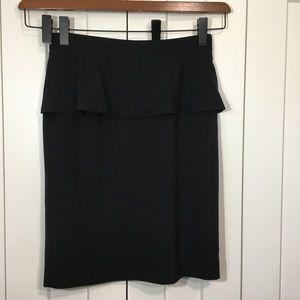 Vince Camuto Pencil Skirt with peplum.SZ 8